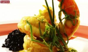 camarao-ao-curry-arroz-negro